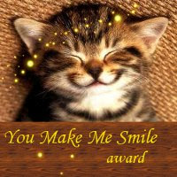 You Make Me Smile Award from ALex J. Cavanaugh