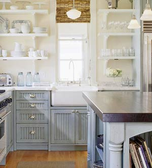 Cottage Cabinets Kitchen