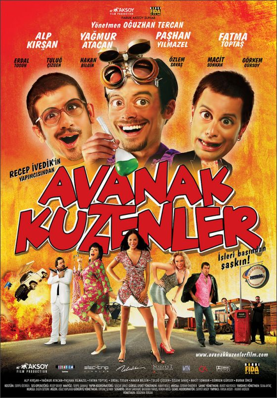 Avanak Kuzenler İzle - Dvd Çekim Türk Filmleri izle | Türk