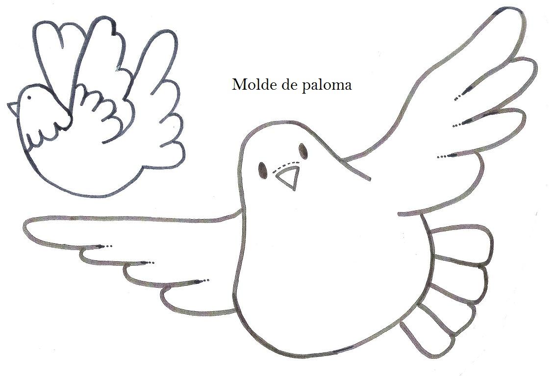 Dibujos De Palomas Para Colorear