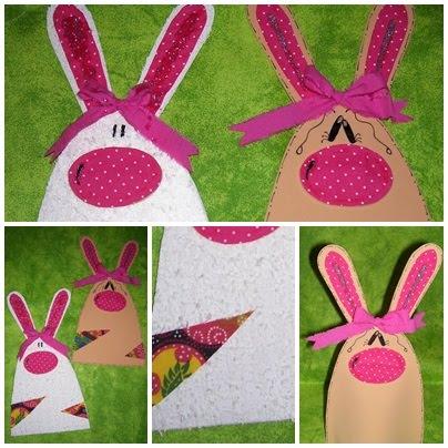 pruebarecrear: Conejo de Pascua en goma eva.