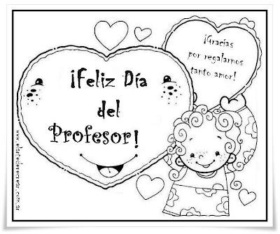 ArtEducacion.com.ar: Tarjeta Día del profesor. ¡Feliz Día del ...