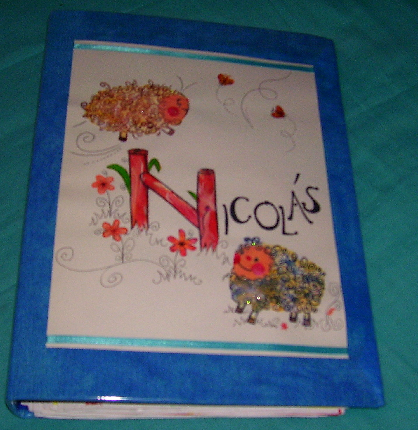 Carpeta Decorada Para Nino De Jardin De Infantes Recrear