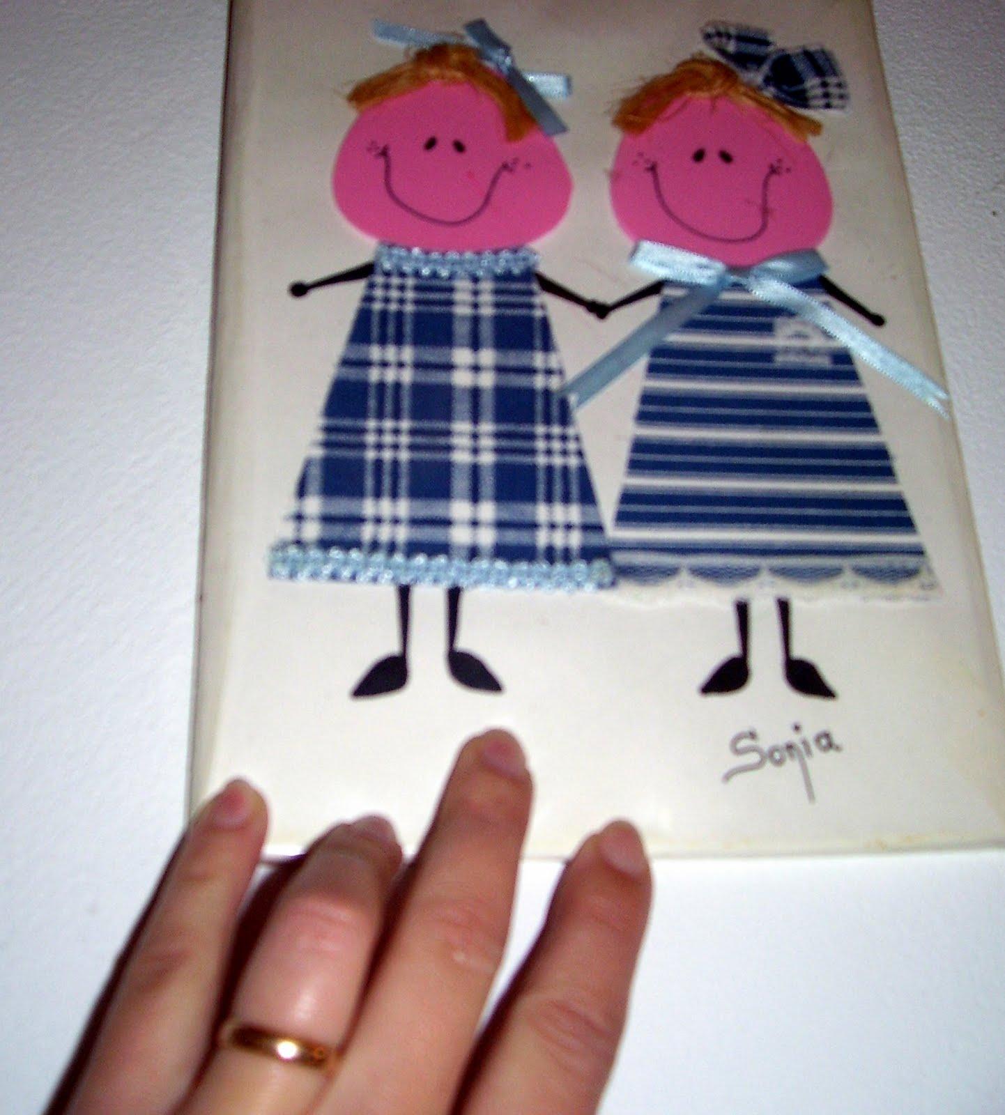 RECREAR - MANUALIDADES - ARTE: Cuaderno forrado con muñecas.