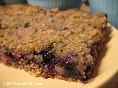 Blueberry bars recipes