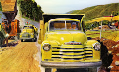 53 Chevy Dump Truck and Chevy COE