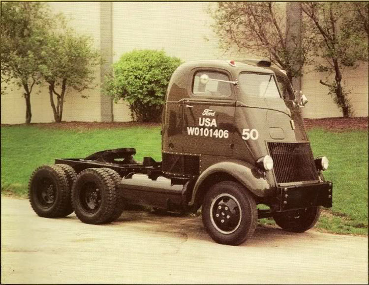 I'm Liking Trucks: Rare Ford COE Twin Engine