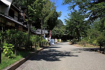 日本昭和村,街エリア