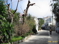 Strolling through the streets of Anacapri
