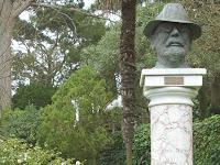Axel Munthe in his garden