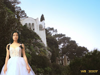 Daydreaming about a white wedding gown