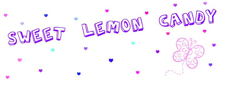Cute lemon candy.