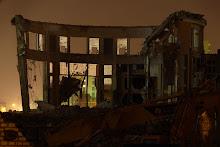 Domingo 9 de noviembre: La cubierta de la cúpula se ha derrumbado
