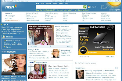 how to delete msn homepage