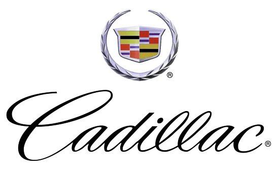 Cadillac Logo Black. sponsored by Cadillac,
