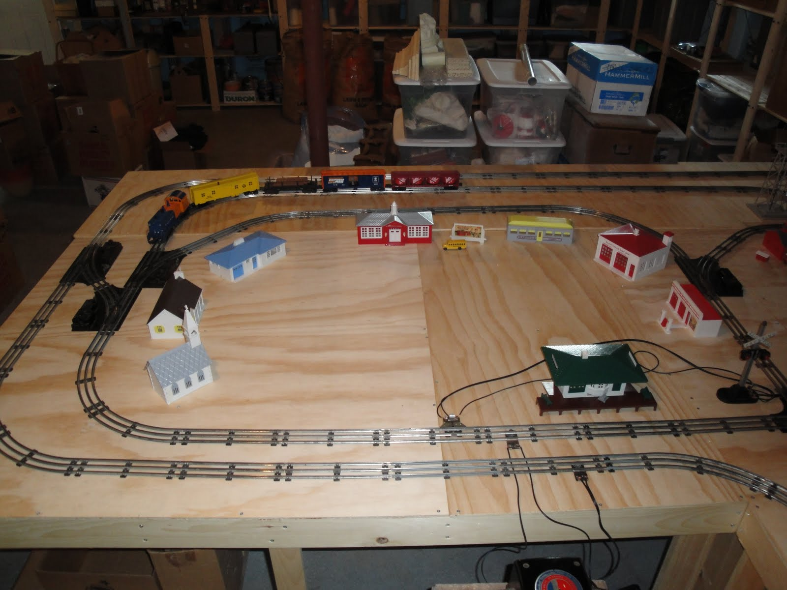 Model Train Tables : Pdf diy build model train table download workbench
