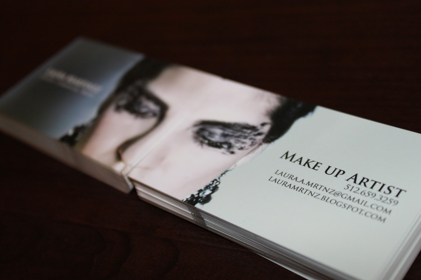 Makeup Artist Business Cards Exles - Mugeek Vidalondon