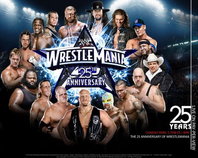 wrestlemania 25 wallpaper. [FIXO] WWE Wrestlemania XXV