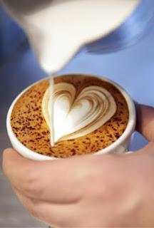 oftast med kaffe