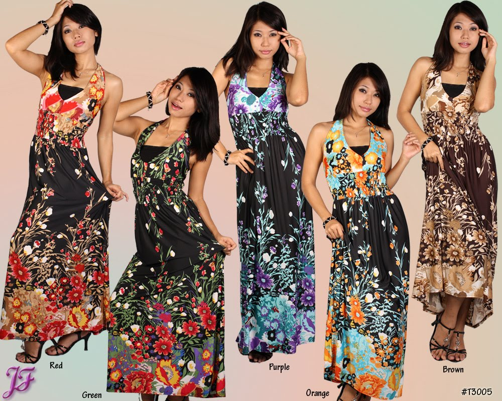Blouse Maxi Dress Collection 66