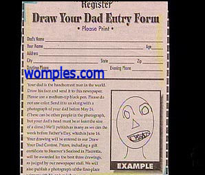 really funny and stupid drawing competition how to draw your dad