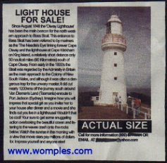 funny real estate small tiny lighthouse for sale