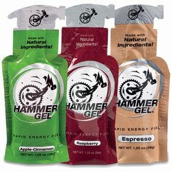 Hammer gel has a cute design that wasn't so cute around mile 9.