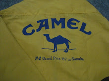 Camel (F1 GRAND PRIX 1987 IN SUZUKA JAPAN) VINTAGE Back