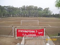 Asi estaba nuestra cancha en la temporada 2007