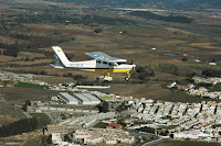 Bautizo de vuelo en ultraligero en Cadiz