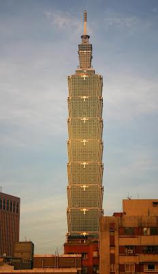 Taipei 101 - The World's tallest building till 2008 - Source: http://metrodusa.blogspot.com/