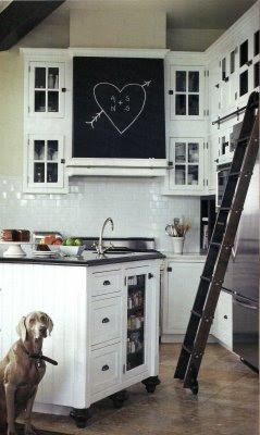 ispirazioni cucina Lavagna : Una cucina molto personale - Shabby Chic Interiors