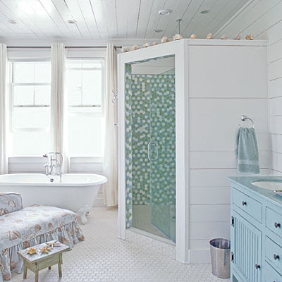 Site Blogspot  Vanity Bath on Shabby Chic Interiors    Aria Di Mare