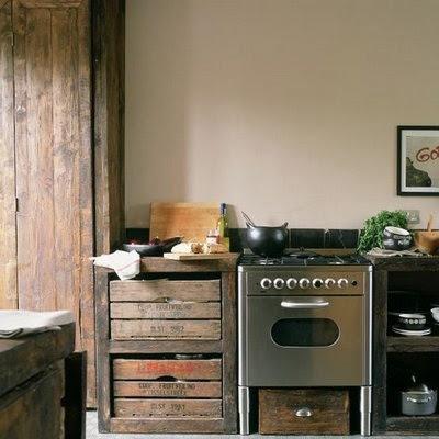 Cucine di campagna shabby chic interiors - Cucine di campagna ...