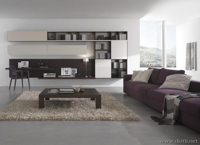 Arredamenti diotti a f il blog su mobili ed arredamento for Composizioni soggiorno design