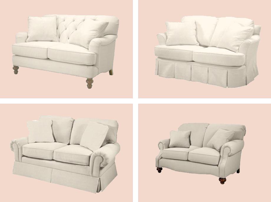 il divano shabby chic interiors