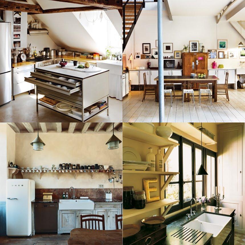 Una cucina troppe idee shabby chic interiors - Cucine sotto finestra ...