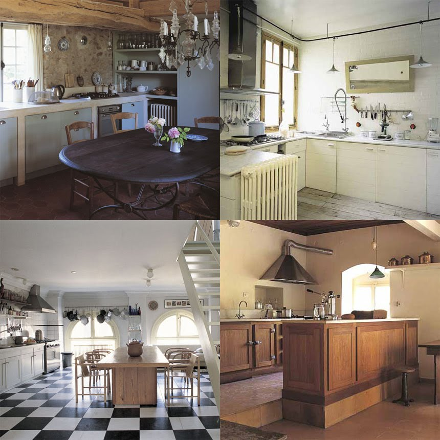 Una cucina troppe idee shabby chic interiors - Cucina con finestra ...