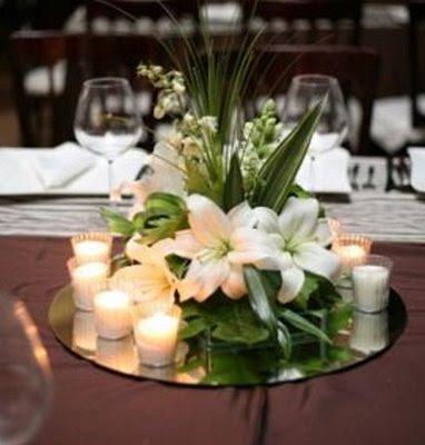 Novedosos centros de mesa | Web de la Novia