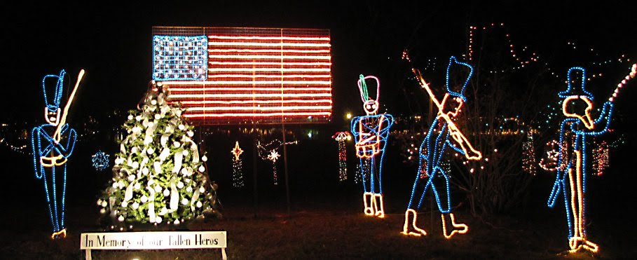 Defuniak Springs Christmas Lights