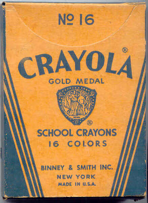 CrayolaBox QM Staff Inventory: I Love Tradition  with a Twist
