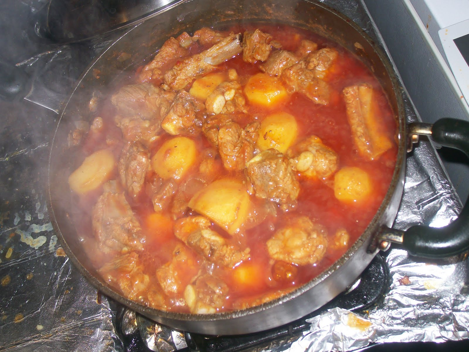 La cocina de nathan cuban spanish mexican cooking - Guiso de carne de cerdo ...