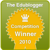 Edublogger's Badge!