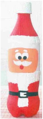 Una botella de refresco de plástico, de 2litros o 1´5 litros