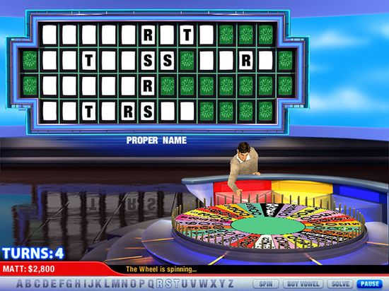 free online games wheel of fortune play free