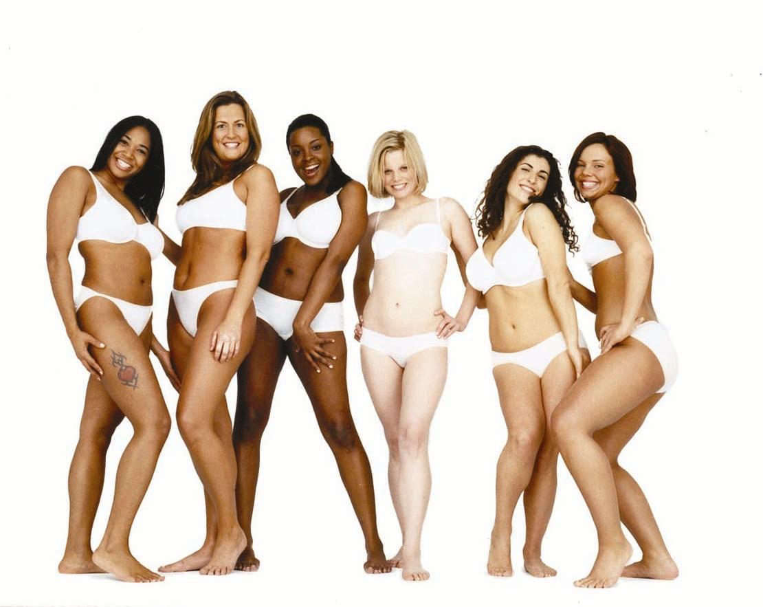 Average Women From Dove Mercial