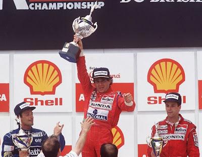 GP do Brasil em Formula 1 em Interlagos de 1991 - classicosdoesporte.blogspot.com
