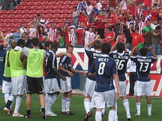 Chivas USA, fans, soccer