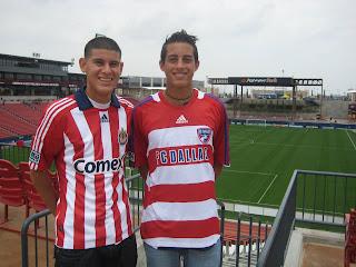 Chivas USA, FC Dallas, Briant Reyes, Gabriel Funes