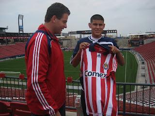 Dennis te Kloese, Briant Reyes, Chivas USA